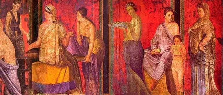 фрески в помпеях