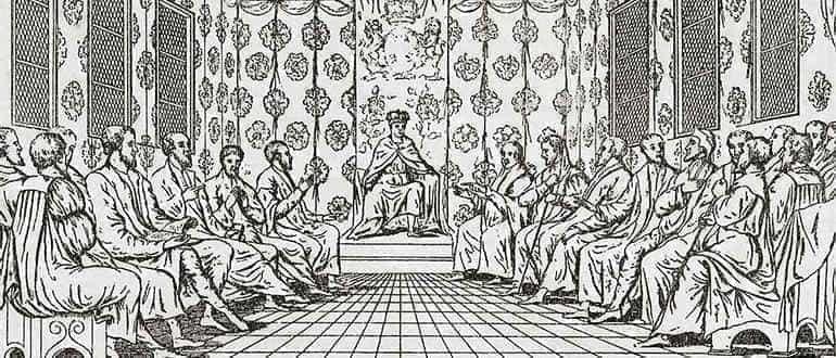 средневековый парламент