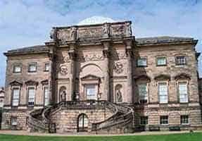 английский величественный дом 18-й век
