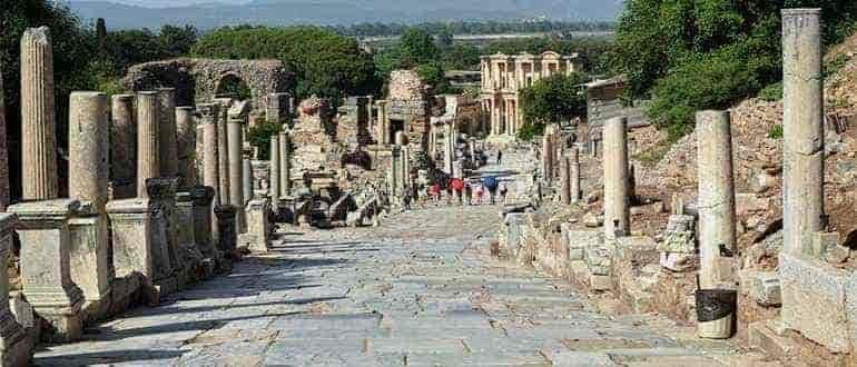 древние города малой Азии