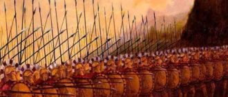 фаланга спарты