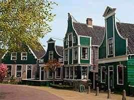 Голландские таунхаусы 17-18 век