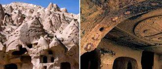 Каппадокия храмы в горах