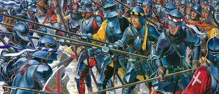 пехотинцы средневековья