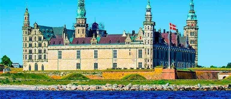 ренессансный замок Кронборг