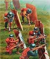 средневековые арбалетчики