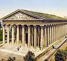 Церковь ла Мадлен в Париже