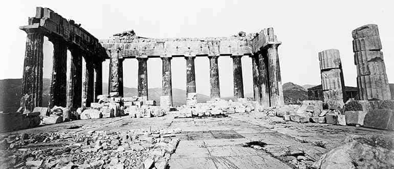 разрушение Парфенона