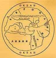 Карта Гекатея