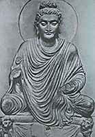 Будда скульптура Гандхара
