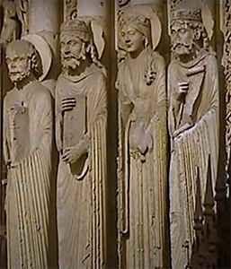 Готическая скульптура средневековья
