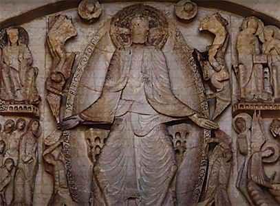 Романская скульптура средневековья