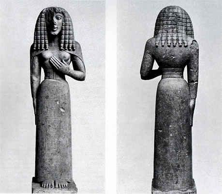 Дама из Оксерра ок 640-630 гг до н.э