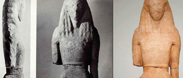 Статуя Артемиды с острова Делос